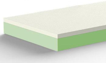 dettaglio lattice briflex fabbrica artigiana materassi gussago brescia