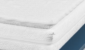 dettaglio memory+topper briflex fabbrica artigiana materassi reti gussago brescia